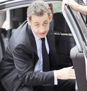Nicolas Sarkozy en Israël en