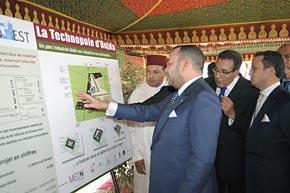 S.M. le Roi préside la signature d'un accord pour la réalisation de la technopole d'Oujda au coût de 1,2 MMDH