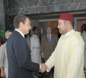 S.M. le Roi reçoit le Président du gouvernement espagnol