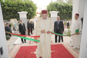 S.M. le Roi inaugure un Centre d'appui et de promotion de la femme dans le cadre de l'INDH d'un montant de 4,77 MDH