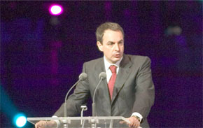Le Premier ministre espagnol, José Luis Rodriguez Zapatero. (Photo : www.britannica.com)