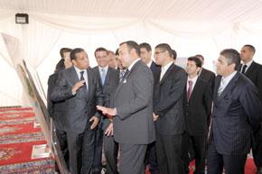 Présentation à S.M. le Roi du schéma de développement touristique « Vision Al Hoceïma 2015 »