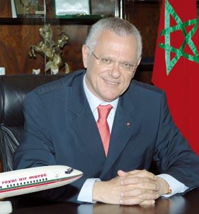 Interview •  Driss Benhima,  président-directeur général de Royal Air Maroc