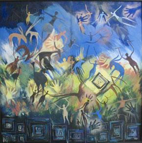 De l'art sahraoui avec El Imam Djimi