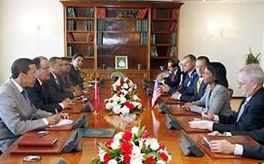 M. Fassi Fihri s'entretient avec la secrétaire d'Etat américaine
