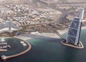 Vue aérienne de Dubaï. (Photo : AFP)