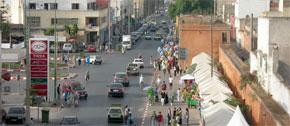 Mohammedia, une ville industrielle, est aussi une station balnéaire d'importance et un haut lieu de l'artisanat marocain. (Photo : www.louervendreaumaroc.com)