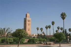 Minaret de la Koutoubia à Marrakech. (Photo : picasaweb.google.com)