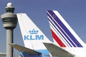 Croissance nulle et baisse d'effectifs d'ici à 2011, au groupe Air-France-KLM.  (Photo : www.timesofmalta.com)