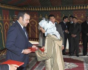 S.M. le Roi lance les travaux du nouveau pôle urbain de Lahraouiyine au coût de 622 MDH