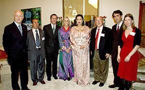 SAR la Princesse Lalla Meryem assiste à une réception