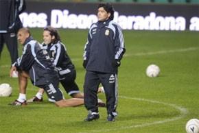 La première de Maradona en Ecosse accapare l'attention