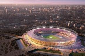 Le stade olympique pour les Jeux de 2012 à Londres. (Photo : sportdesignnews.blogspot.com)