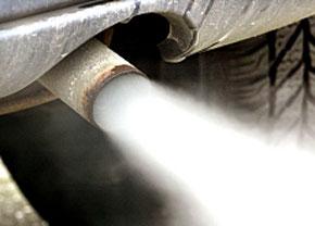 Réduire à 130 g/km les émissions de CO2 d'ici 2012. (Photo : www.tsr.ch)