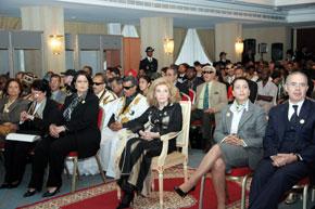 S.A. la Princesse Lalla Lamia préside à Casablanca l'ouverture de la 6e assemblée générale de l'UAFA
