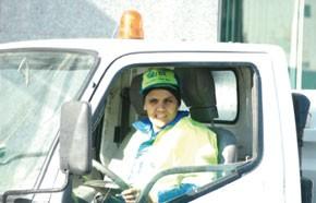 Aïcha, mère cilibataire première chauffeur de camion