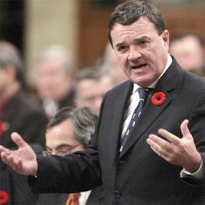 Le ministre canadien des Finances, Jim Flaherty. (Photo : www.canada.com)