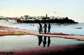 Les œuvres réelles de Abdelfattah Karmane montrées à Marrakech