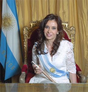 La présidente argentine à Madrid