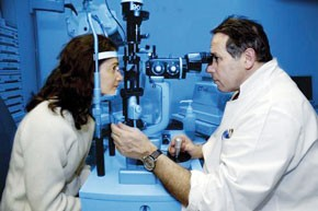 Une maladie qui tue le nerf optique