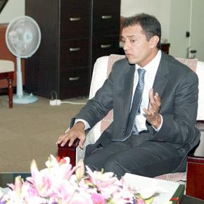 Ahmed Reda Chami, ministre de l'Industrie, du Commerce et des Nouvelles technologies. (Photo : www.mke.go.kr)
