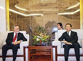 Message de S.M. le Roi Mohammed VI au président chinois