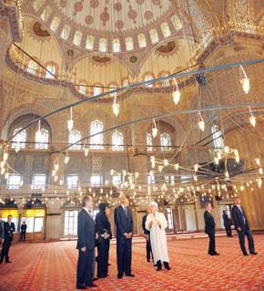 Obama tend la main aux Musulmans
