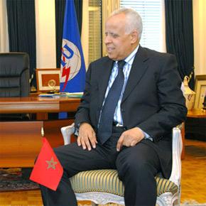 Mohamed Loulichki, ambassadeur, représentant permanent du Maroc auprès de l'Onu. (Photo : www.itu.int)