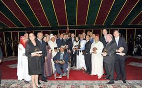 S.M. le Roi préside la cérémonie de remise des trophées