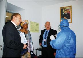 Une délégation de diplomates visite l'aéroport de Rabat-Salé