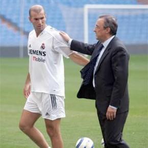 Florentino Perez laisse entendre l'arrivée de Zidane