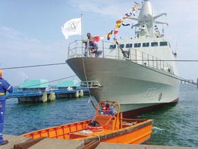 Une corvette française pour la défense émiratie