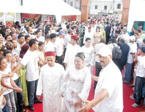 Le Festival Zawaj mobilise Derb Sultan