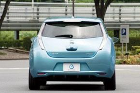 Renault et Nissan dévoilent la Leaf