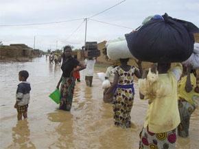 Le gouvernement sénégalais déclenche le plan Orsec pour faire face aux inondations. (Photo : www.famille.gouv.sn)