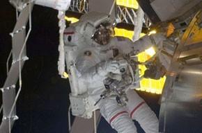 Dernière sortie orbitale pour deux astronautes