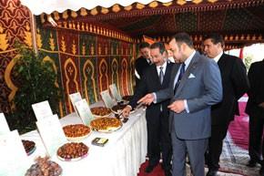 S.M. le Roi lance le projet de plantation d'un million de palmiers dattiers dans les oasis de Tafilalet