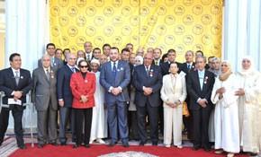 S.M. le Roi inaugure à Fès un Centre de formation aux métiers d'artisanat lançant la Campagne nationale de solidarité