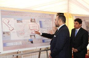 S.M. le Roi préside la cérémonie de signature d'une convention pour la mise à niveau urbaine de Rich