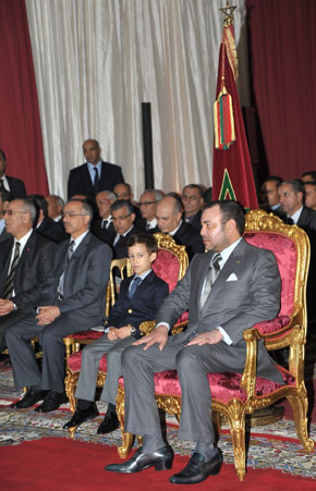S.M. le Roi inaugure, lance et examine à Benguerir plusieurs projets et programmes environnementaux