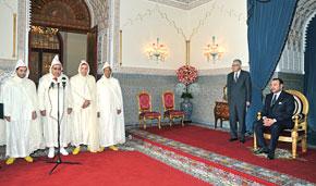 S.M. le Roi nomme cinq membres du gouvernement