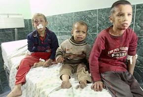 Malgré une forte sensibilisation de la société au problème, des millions d'enfants sont toujours victimes de violences. (Photo : www.info-palestine.net)