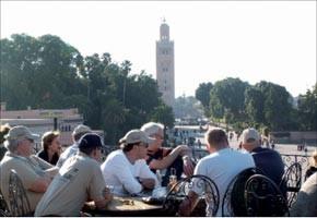 Grande affluence des touristes espagnols