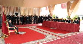 S.M. le Roi préside la cérémonie de signature de deux conventions relatives au projet de reconversion du port Tanger-ville