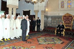 S.M. le Roi nomme plusieurs walis et gouverneurs