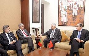 Abbas El Fassi s'entretient avec le Premier ministre