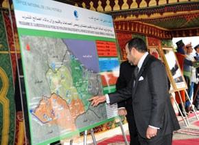 S.M. le Roi examine l'état d'avancement de plusieurs programmes de développement dans la province de Chefchaouen
