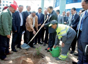 Les écoles «verte» à Skhirat-Témara
