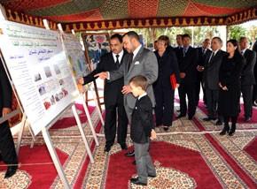 S.M. le Roi examine l'état d'avancement des programmes de l'INDH au niveau de la région du Grand Casablanca