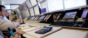 La Bourse de Paris en hausse grâce au plan de soutien financier sans précédent à la Grèce. (Photo :)